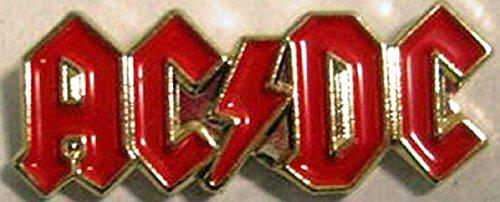 Metall-Brosche/Anstecker, emailliert, Heavy-Metal-Motiv AC/DC