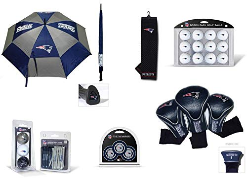 Lowest Prices! Team Golf NFL New England Patriots Officially Licensed Golf Accessories - Includes 1 ...