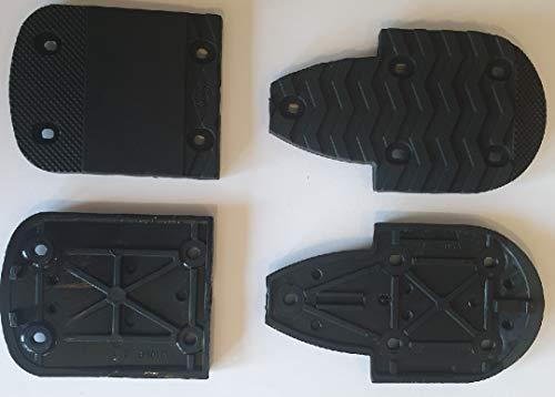 ROSSIGNOL LANGE - Suole di ricambio per scarponi da sci, 2 tacchi + 2 punte, 7 mm