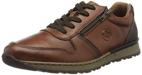 Rieker Herren B2510 Sneaker, Braun (Nut/Ozean/Toffee 26), 46 EU