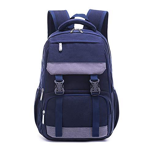 Gymy Mochila de viaje para estudiantes de escuela secundaria, estilo universitario, mochila de viaje, color morado