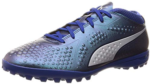 Puma Herren ONE 4 SYN TT Fußballschuhe, Blau (Sodalite Blue Silver-Peacoat 03), 42 EU