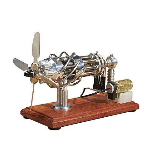 Motor Stirling De Aire Caliente De 16 Cilindros, Decoración De Escritorio Fresca, Ciencia Con Diversión Utilizado Para La Enseñanza De La Ciencia Popular, Regalos De Cumpleaños, Juguetes De Decoraci