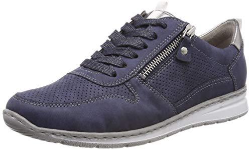 Jenny Damen Sapporo 2252403 Sneaker, Blau (Indigo, Titan 70), 37 EU