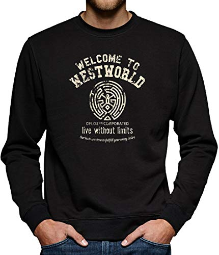Welcome to Westworld Sweat-shirt pour homme - Noir - XX-Large