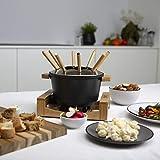 Princess Bambus Fondue Pure Black - geeignet für bis zu 8 Personen, 800 Watt, 1,5L Fasssungsvermögen, einfache Reinigung, 173025 - 13