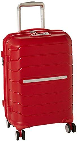 Samsonite Octolite Spinner Unisex Small Red Polypropylene Luggage Bag TSA Approved I72000004
