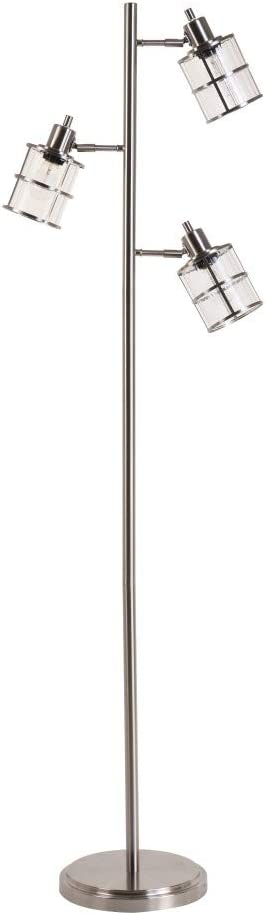 Catalina Lighting 21406-000 Modern specialty shop 3 New item with Lamp Floor Adjustable