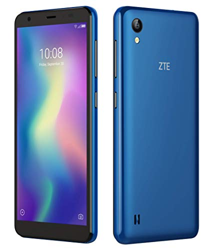 ZTE Blade A5 blue (13.84 cm (5.45 Zoll) HD+ Display, 16GB interner Speicher und 1GB RAM, 8MP Hauptkamera, 5MP Frontkamera, Android) Blau