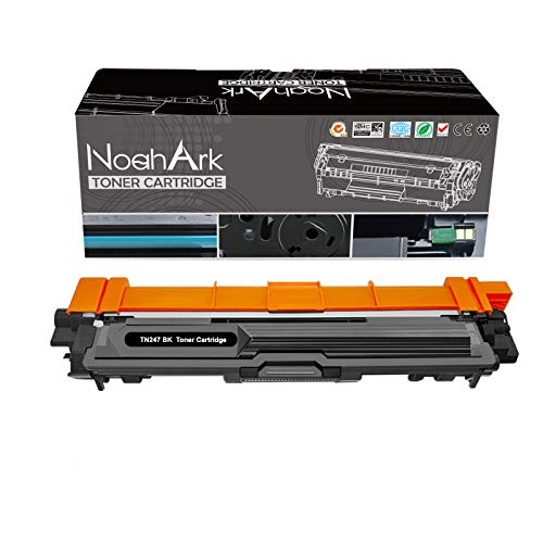 NoahArk Cartucho de tóner compatible TN-243 TN-247 para Brother TN243 TN247 para DCP-L3550CDW DCP-L3510CDW HL-L3230CDW HL-L3210CW HL-L3270CDW MFC-L3710CW MFC-L3730CDN MFC-L3750CDW, 1 Negro