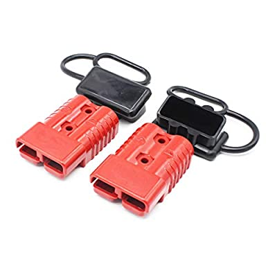 X-Haibei Battery Quick Connector Kit 175A 1/0 AWG Plug Connect Disconnect Winch Trailer