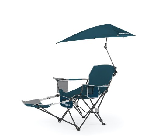 Sport-Brella Recliner Chair, Blue