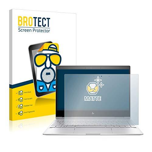 BROTECT Entspiegelungs-Schutzfolie kompatibel mit HP Spectre x360 13-ae0xx Bildschirmschutz-Folie Matt, Anti-Reflex, Anti-Fingerprint