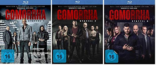 Gomorrha - Staffel 1-3 im Set - Deutsche Originalware [10 Blu-rays]