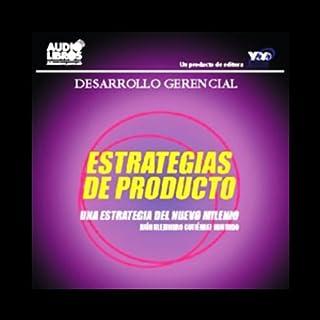 Estrategias de Producto [Product Strategies] audiobook cover art
