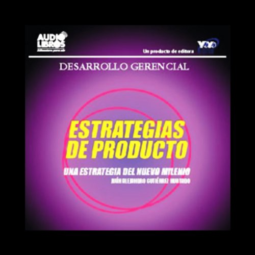 Estrategias de Producto [Product Strategies] audiobook cover art