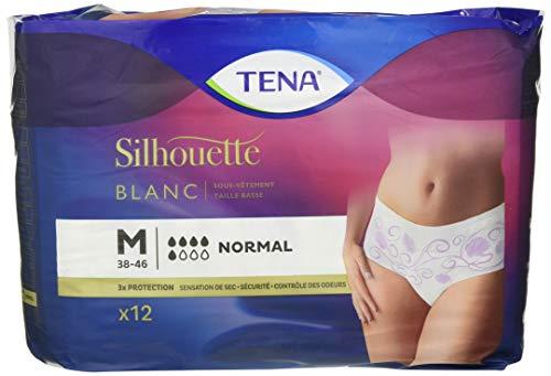 Tena Silhouette - Sous-vetement absorbant - Normal Medium Pack 12