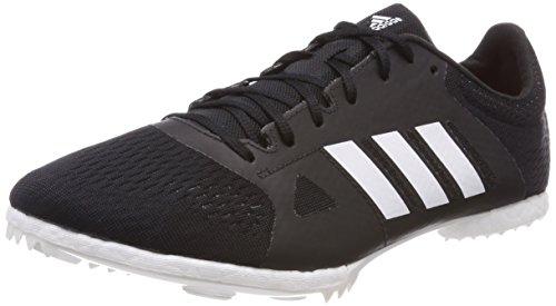adidas Adizero MD, Scarpe da Atletica Leggera Unisex-Adulto, Nero (Negbás/Ftwbla/Naalre 000), 41...