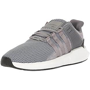 adidas Originals Men's EQT Support 93/17 Running Shoe Grey/White, 10 M US