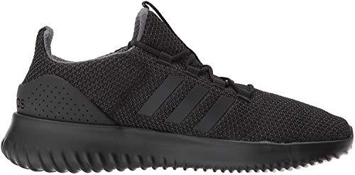 adidas Men's Cloudfoam Ultimate Running Shoe, Black/Black/Utility Black, 12 M US