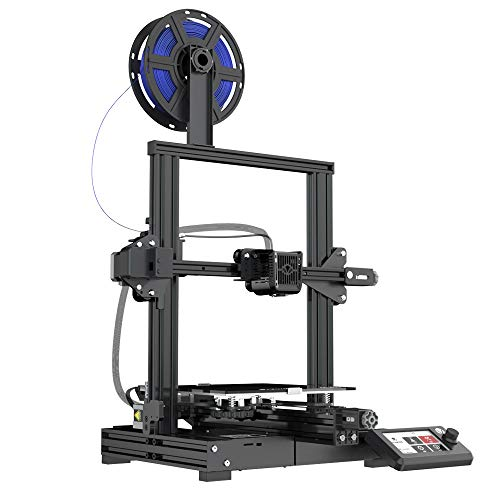 Voxelab Aquila 3D Printer with Full Alloy Frame, Removable Build Surface Plate, Fully Open Source and Resume Printing Function Build Volume 8.66x8.66x9.84in