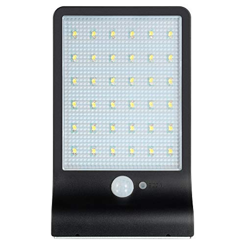 Solarlicht Außenleuchte mit Bewegungssensor Licht Gartenwandleuchte 36LED Light Home Security Light 48LED