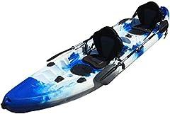 Cambridge Kayaks ES, Sun Fish TÁNDEM SÓLO 2 + 1 Azul Y Blanco, RIGIDO