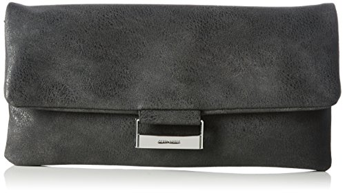 Gerry Weber Be Different 4080003238 Damen Clutches 28x14x1 cm (B x H x T), Grau (dark grey 802)