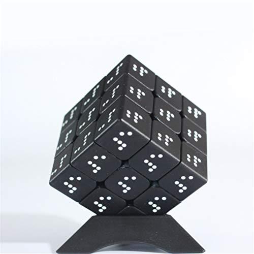PPu Speed Cube para invidentes, Rubiks Cube 3x3 Braille 3D Estéreo con Huellas Dactilares en Relieve Personalizado para niños: Caja de Pandora