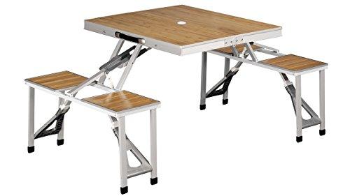 Outwell 660979 Table de Pique-Nique Mixte Adulte, Argent