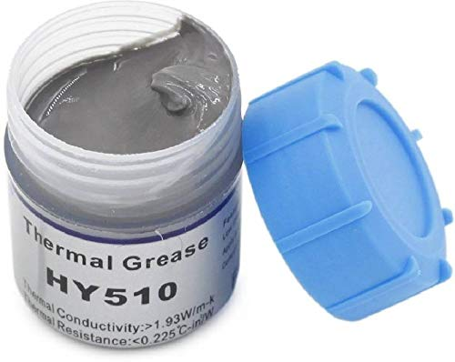 River Fox 10g Grey Heat Sink Compound Thermal Silicone Conductive Grease Paste for PC CPU GPU Chipset