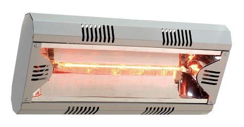 Mo-El Infrarot Heizstrahler Hathor 2000, Silber, 2000 Watt
