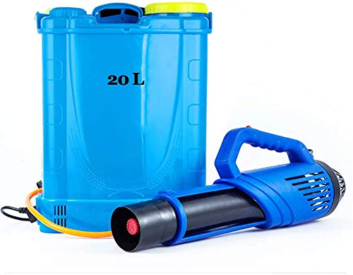 Portable Multi Purpose pulvérisateur électrique, pulvérisateur à Haute Pression Ventilateur 20L air, pour Le Jardinage désinfection de prévention des épidémies dans Les lieux publics