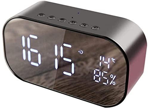 Reloj Despertador Relojes Retro Reloj Despertador de proyección Amanecer Relojes de Alarma Reloj de Dormitorio Reloj led Reloj de Noche Reloj de Mesa Alarma Inteligente