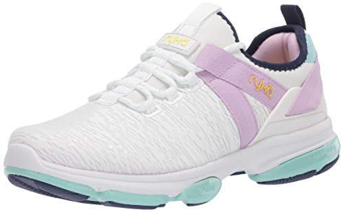 RYKA Women's Dedication XT Training Sneaker, White, 7.5 B (M)