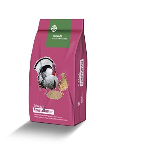 Schkade Landhandel GmbH Putenfutter - Lausitz Putenmast III - Alleinfuttermittel für Puten - 3 mm pelletiert - ohne Gentechnik
