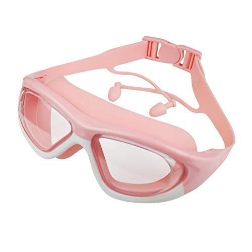 Anti-Fog UV Protection Swimming Goggles Pool Swim Glasses Earplug Kids Children Outdoor&Sport Swimming