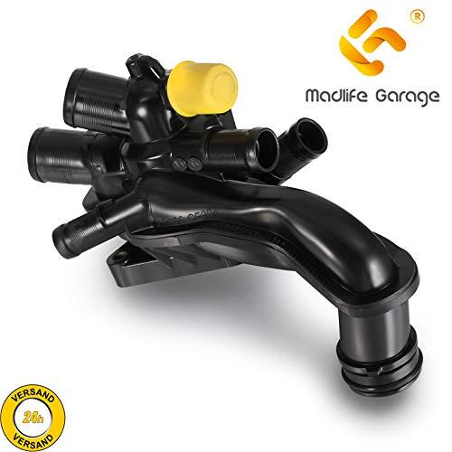 Madlife Garage Carcasa de termostato 11537534521 1336.Z6 para C4 Picasso Mini R55 R56 R57 207 308 RCZ