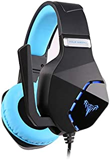 Cyclotronix Hell PS5 Professional LED Gaming Headset with Microphone, 50mm Speakers, Muting, Noise Cancelling, Flexible, f...