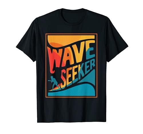Surfista Buscador de Ondas Camiseta