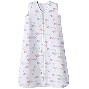 HALO Sleepsack 100% Cotton Wearable Blanket, Pink Arrow, Small