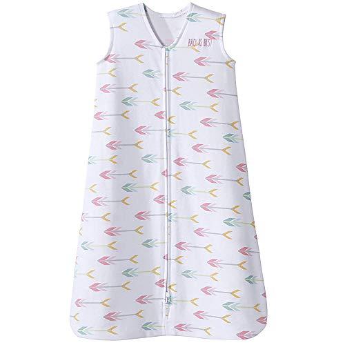 HALO Sleepsack 100% Cotton Wearable Blanket, TOG 0.5, Pink Arrow, Small