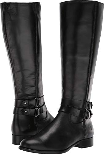 Frye Christie Strap Tall Black 5.5