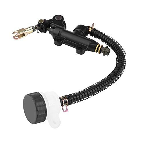 Cilindro maestro de freno Repuesto de depósito de bomba de cilindro maestro hidráulico de freno de pie trasero plegable para Ka-wasaki