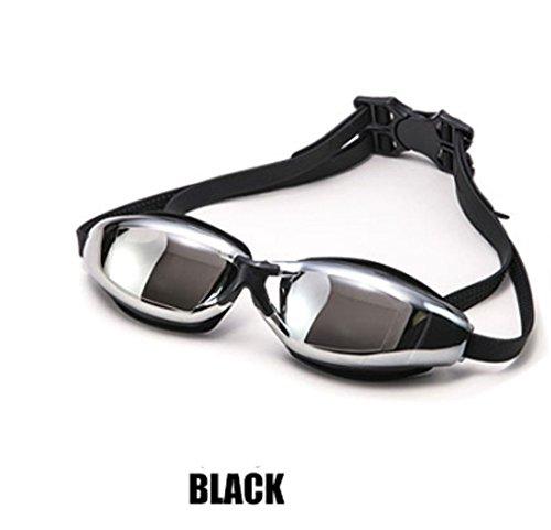 Bluefield impermeabile anti-nebbia nuoto occhiali protettivi da adulto regolabile occhialini da nuoto