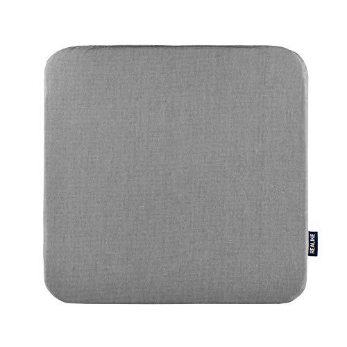 REALIKE Värmepressmatta för enkel press värmebeständig skyddsmatta för Cricut-maskiner för HTV Iron On Project för hantverk vinyl strykning isolering överföring 30,5 cm x 30,5 cm (12 tum x 12 tum) grå