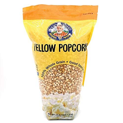 Cousin Willie's Original Yellow Popcorn Kernels, 45 ounces (Case of 8)