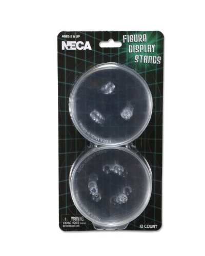 NECA Action Figure Display Stands (Pack of 10)