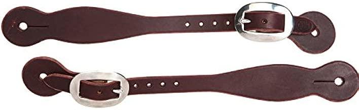 NRS Tack Ranch Hand Series Latigo Straight Spur Straps