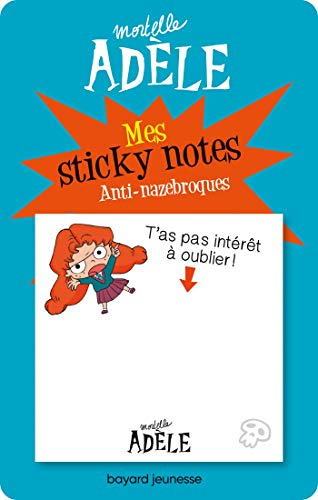 Sticky Notes mortelle Adele Anti-nazebroques